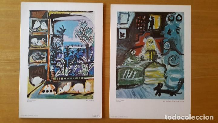Arte: Picasso Lote de 35 láminas. Obras del Museo Picasso. SPADEM, París, 1972-1973 - Foto 6 - 113380891