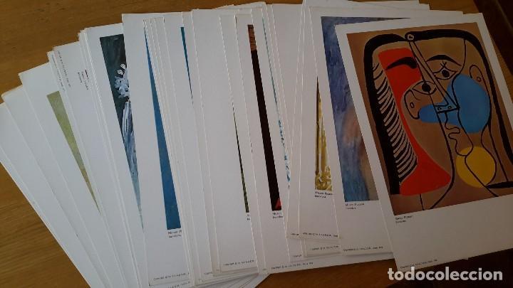 Arte: Picasso Lote de 35 láminas. Obras del Museo Picasso. SPADEM, París, 1972-1973 - Foto 8 - 113380891