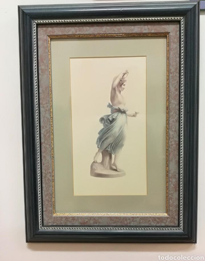 cuadro. diosa griega.preciosa lámina enmarcada - Comprar Láminas ...