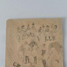 Arte: HEIDBRINCK - SUEÑOS - FANTÁSTICA ILUSTRACIÓN EN ANTIGUO RECORTE DE PERIODICO. Lote 114262579