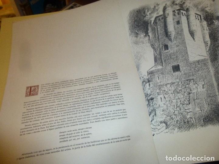 Arte: veinte estampas salmantinas dibujadas por zacarias gonzalez y un escrito de luis cortes.. - Foto 2 - 115485787