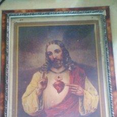 Arte: MARCO CON LAMINA RELIGIOSA. Lote 116718955