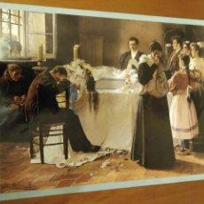 Arte: LÁMINA JULIO ROMERO DE TORRES. MIRA QUÉ BONITA ERA.. Lote 117780311