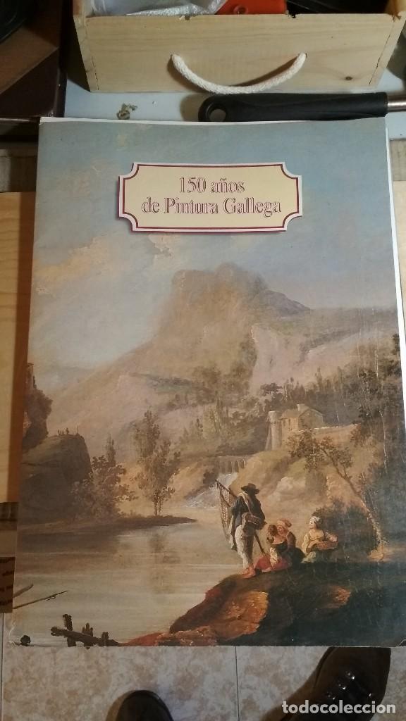CARPETA CON 33 DE LAS 35 LÁMINAS - 150 AÑOS DE PINTURA GALLEGA -ED.POR CITROËN Y FARO DE VIGO. (Arte - Láminas Antiguas)