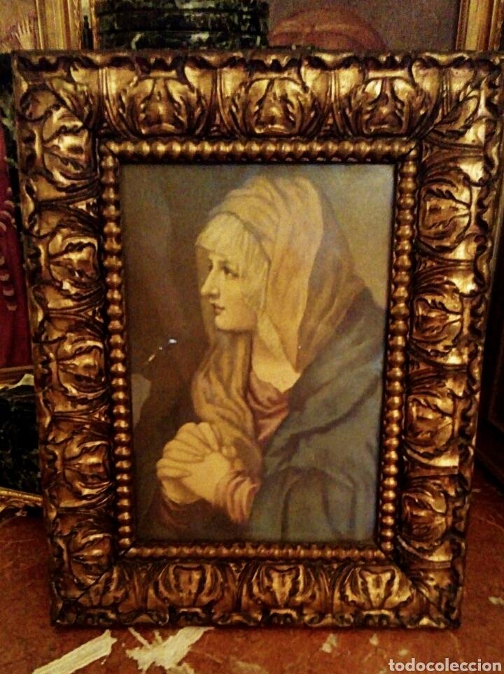 muy antiguo cuadro de la virgen maria. con marc - Comprar Láminas ...