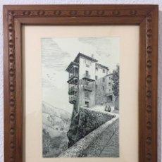 Arte: CUADRO VISTAS DE CUENCA. Lote 119188819