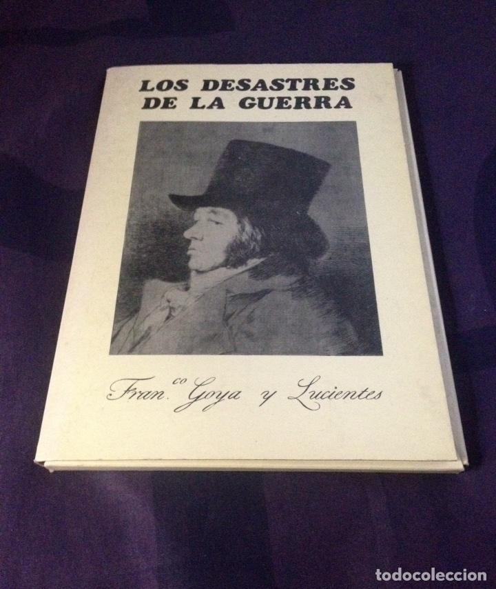 Arte: GOYA Y LUCIENTES, FRANCISCO DE... LOS DESASTRES DE LA GUERRA. EDICION COMPLETA 1983. - Foto 2 - 120468779