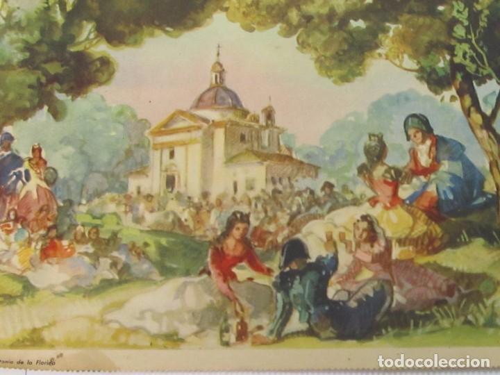 Arte: LÁMINA REPRODUCCIÓN DE SAN ANTONIO DE LA FLORIDA, DE SEIX & BARRAL - BARCELONA - Foto 2 - 120540871