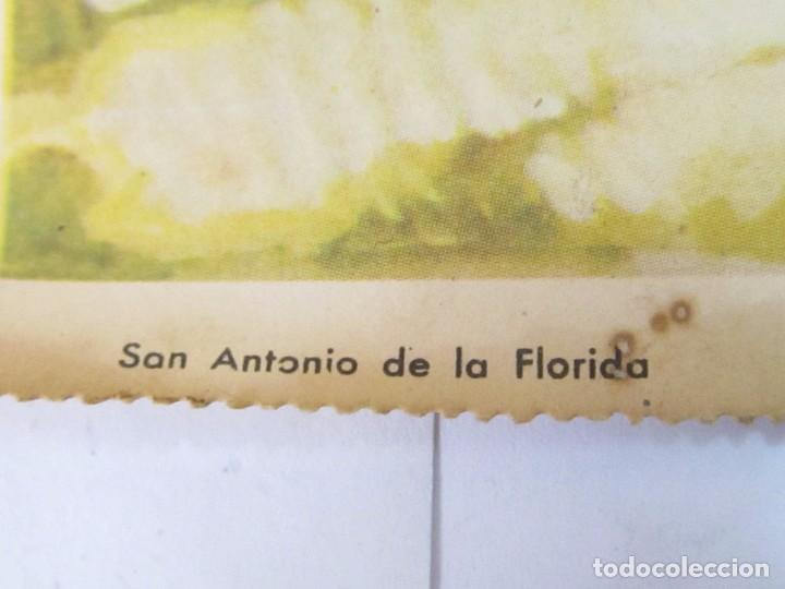Arte: LÁMINA REPRODUCCIÓN DE SAN ANTONIO DE LA FLORIDA, DE SEIX & BARRAL - BARCELONA - Foto 3 - 120540871