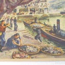 Arte: LÁMINA REPRODUCCIÓN DE THOMAS - BARCELONA. Lote 120541147