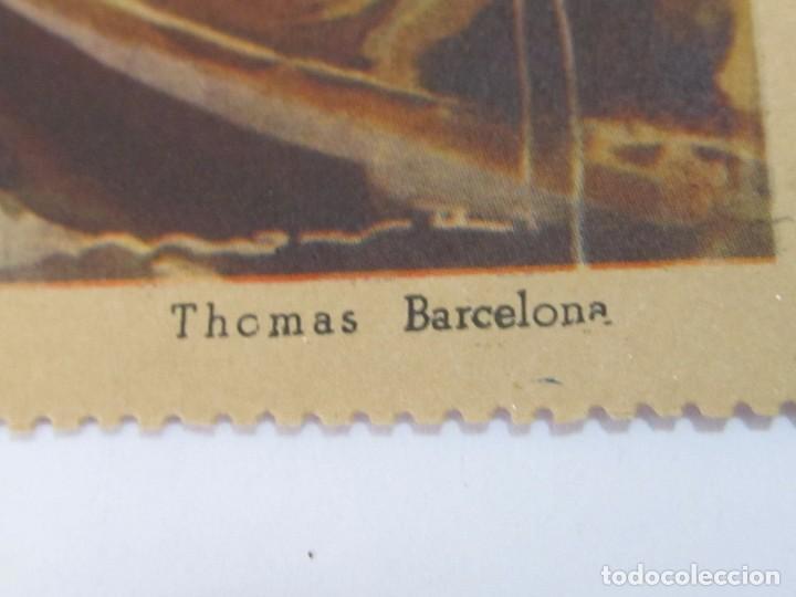 Arte: LÁMINA REPRODUCCIÓN DE THOMAS - BARCELONA - Foto 2 - 120541147