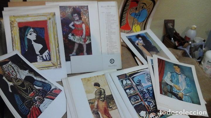 Arte: Museo Picasso .Colección de láminas 1975 .Treinta y tres láminas en papel-cartón - Foto 2 - 121190907