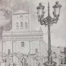 Arte: LÁMINA IGLESIA DE SAN PABLO PALENCIA 10. Lote 122707891