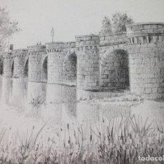 Arte: LÁMINA PUENTE MAYOR PALENCIA 19. Lote 122717659