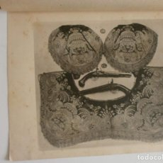 Arte: LAMINA GUALDRAPA S XVIII MUSEO ARMERIA JOSE ESTRUCH. Lote 123356535