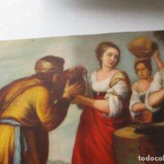 Arte: ANTIGUA LÁMINA- 17 X 24.5 CM. . Lote 124899107