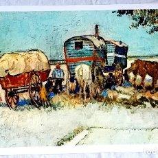 Arte: ANTIGUA LÁMINA DE UNA OBRA DE VINCENT VAN GOGH - 22X32CM - 1970. Lote 125133467