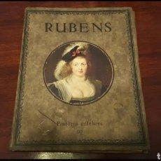 Arte: LIBRO - RUBENS PINTORES CÉLEBRES 510 - E.A. SEEMANN * LEIPZIG. Lote 125157614