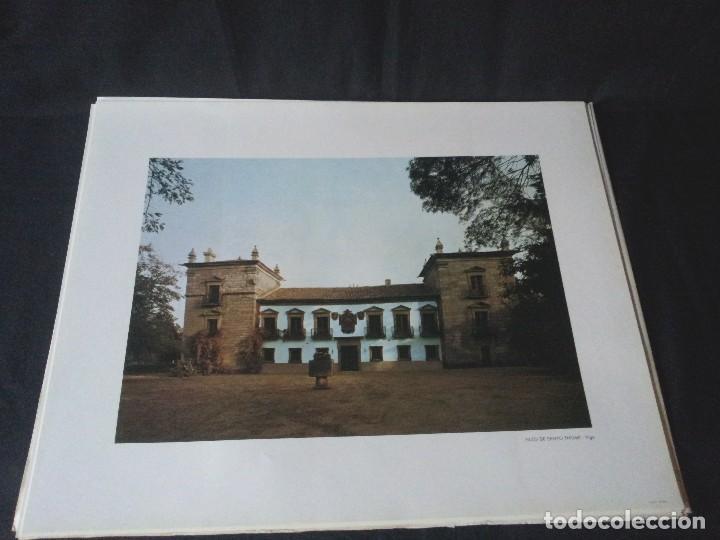 Arte: 18 LAMINAS DE CRUCEIROS GALLEGOS, PAZOS GALLEGOS Y MONASTERIOS GALLEGOS - BANCO PASTOR - Foto 5 - 125925799
