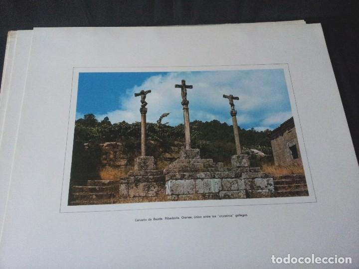 Arte: 18 LAMINAS DE CRUCEIROS GALLEGOS, PAZOS GALLEGOS Y MONASTERIOS GALLEGOS - BANCO PASTOR - Foto 10 - 125925799