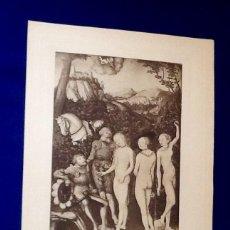 Arte: LAMINA HELIOGRAFICA. FRANCIA. PRINCIPIOS DEL SIGLO XX. EL ENVIO ESTA INCLUIDO .. Lote 126115515