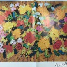 Arte: MERCÉ FLORES, FIRMADA, 80 X 60 CMS. Lote 126564279