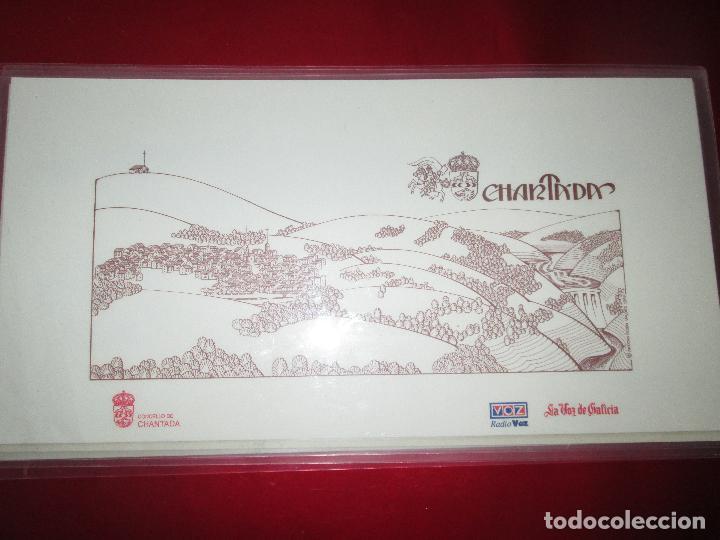 Arte: lote 4 láminas-ciudades gallegas:lugo,chantada,sarria y quiroga-1997-chencho pardo valdés-ver fotos - Foto 5 - 127978731