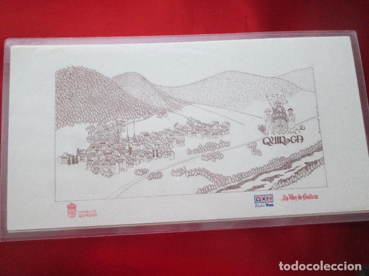 Arte: lote 4 láminas-ciudades gallegas:lugo,chantada,sarria y quiroga-1997-chencho pardo valdés-ver fotos - Foto 6 - 127978731