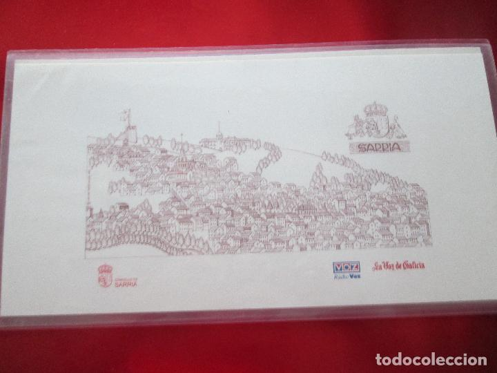 Arte: lote 4 láminas-ciudades gallegas:lugo,chantada,sarria y quiroga-1997-chencho pardo valdés-ver fotos - Foto 7 - 127978731