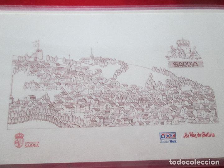 Arte: lote 4 láminas-ciudades gallegas:lugo,chantada,sarria y quiroga-1997-chencho pardo valdés-ver fotos - Foto 8 - 127978731