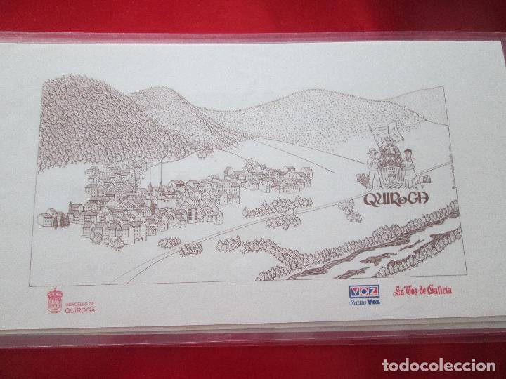 Arte: lote 4 láminas-ciudades gallegas:lugo,chantada,sarria y quiroga-1997-chencho pardo valdés-ver fotos - Foto 9 - 127978731