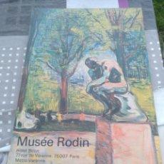 Arte: LAMINA ENCUADRADA MUSEE RODIN PARIS. Lote 128483922