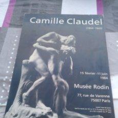Arte: LAMINA ENCUADRADA DE CAMILLE CLAUDEL MUSEE RODIN. Lote 128484164