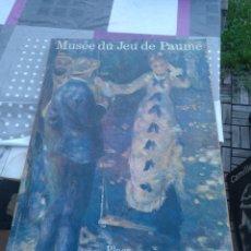 Arte: MUSEE DU JEU DE PAUME. Lote 128484364