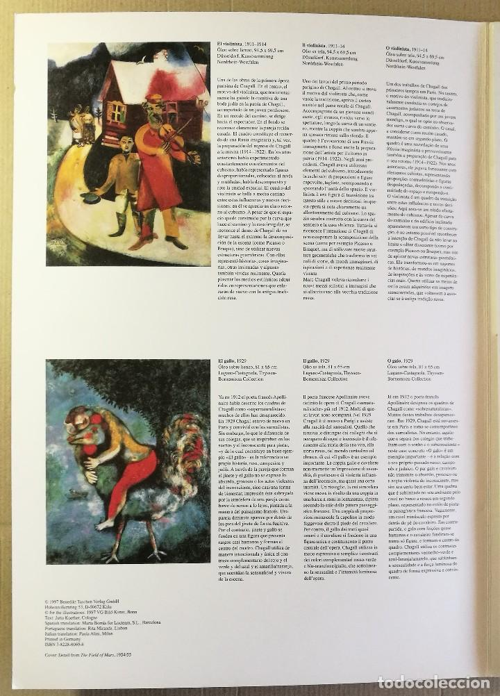 Arte: CARPETA DE 5 LÁMINAS POSTER COLECCION MARC CHAGALL 44X31 CM OBRAS MAS FAMOSAS 1990 PAPEL GRUESO - Foto 9 - 128780159