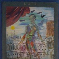 Arte: ANTIGUA CARPETA CON 6 LAMINAS DE OBRAS DA RAOUL DUFY-LA CARTELLE DI SKIRA.VER FOTOS. Lote 128809743