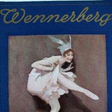 Arte: L-4975. B. WENNERBERG - ALBUM. 20 LAMINAS ORIGINALES EN UN LIBRO. BERLIN. AÑO 1921.. Lote 130125507