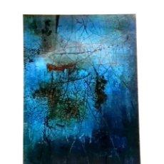 Arte: ANTIGUA LÁMINA - OBRA 9 DE YOSHISHIGE SAITO - EXTRAÍDA DE LIBRO 1964 - 23,5X16CM. Lote 131040800