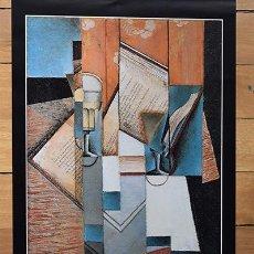 Arte: JUAN GRIS EN SU VIDA Y EN SU OBRA - 6 LÁMINAS DE GRAN CALIDAD Y TAMAÑO - CALENDARIO ROCA 1980. Lote 131126644