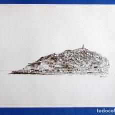 Arte: SAN SEBASTIÁN. LÁMINA 33 X 26 CTMS. ELADIO JIMENEZ. EDICION LIMITADA 500 EJEMPLARES. 1980 . Lote 131330878