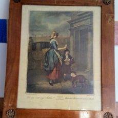 Arte: CRIES OF LONDON BY F. WHEATLEY R. A. FRAMED PRINT ( 3 CUADROS ). Lote 132289062