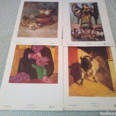 Arte: 150 AÑOS DE PINTURA EN MURCIA, 31 LAMINAS, REVISTA INFORMATIVA Y CARPETA, AÑO 1995. Lote 132582789