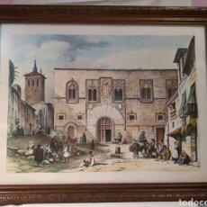 Arte: ANTIGUA LAMINA, DEL PALACIO DE LOS MOMOS, ZAMORA. Lote 132956039