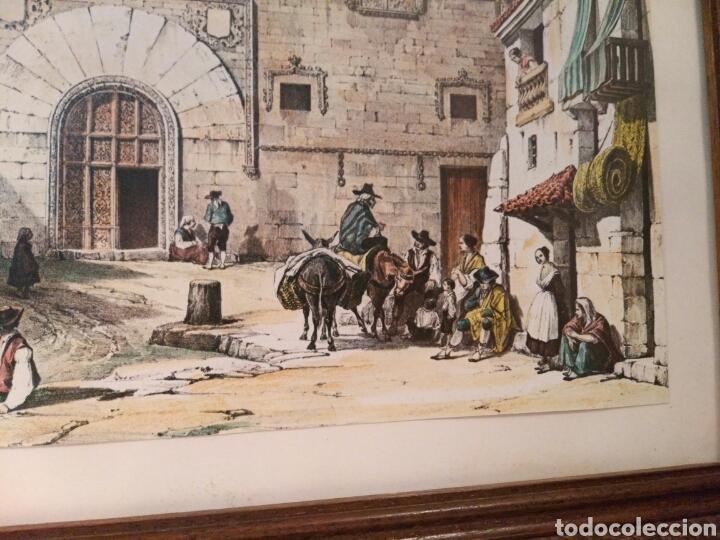 Arte: ANTIGUA LAMINA, DEL PALACIO DE LOS MOMOS, ZAMORA - Foto 2 - 132956039