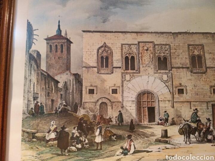 Arte: ANTIGUA LAMINA, DEL PALACIO DE LOS MOMOS, ZAMORA - Foto 3 - 132956039