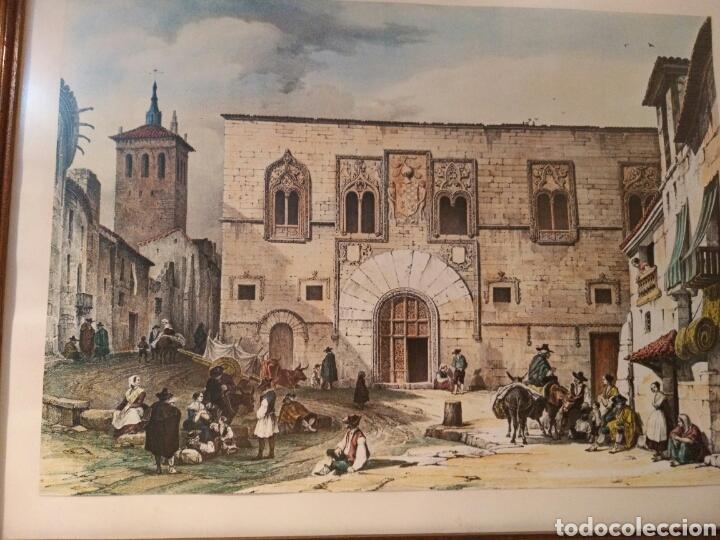 Arte: ANTIGUA LAMINA, DEL PALACIO DE LOS MOMOS, ZAMORA - Foto 4 - 132956039