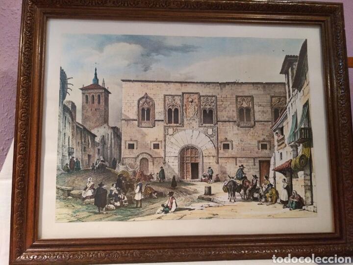 Arte: ANTIGUA LAMINA, DEL PALACIO DE LOS MOMOS, ZAMORA - Foto 5 - 132956039