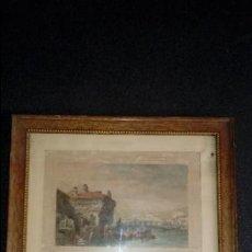 Arte: LAMINA DE IRÚN (GUIPUZCOA). ESTAMPAS DE GUIPUZCOA. LITOGRAFIAS DEL PAIS VASCO.. Lote 133031162