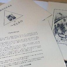 Arte: CENSURAS DE DELSO, TOMO I POR F. FZ. DE BOBADILLA, 12 LAMINAS EN CARPETILLA DE PEDRO DELSO 1976. Lote 133186614