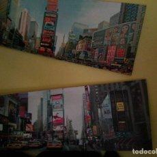 Arte: NEW YORK - PRECIOSO DÍPTICO POP ART DE LÁMINAS ESTAMPADAS SOBRE LIENZO - 120 POR 40 CMS - NUEVA YORK. Lote 133603846
